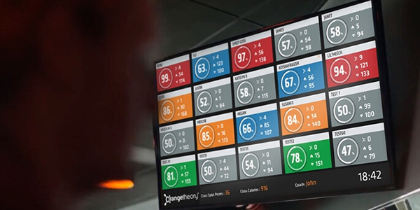 Orangetheory - In Class Performance Screen