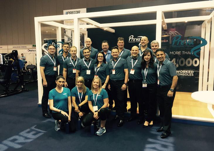 Precor launches 'Fitness Made Personal' @ the Australian Fitness & Health Expo & FILEX