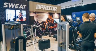 The Precor Team at the 2018 Sydney Fitness Show