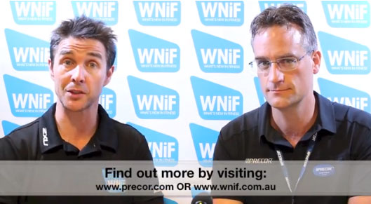 Andy Pickett from Precor Australia Talks Preva Net with Craig Mac