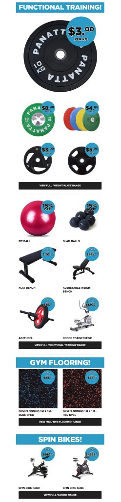 Commercial Fitness Equipment - End of Financial Year Sale - Take advantage of tax time