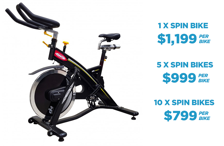 Panatta Spin Bike iS360 - Special Offer - Buy more save more
