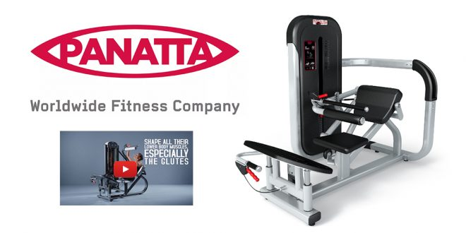 Panatta - New Monolith Line - Hip Thrust