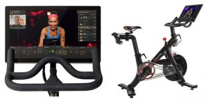 Peloton - Display and bike