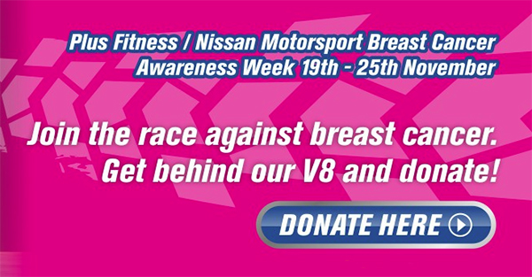 Plus Fitness & Nissan - Breast Cancer - Donate Here