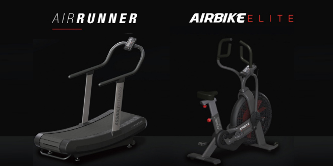 Precor and Assault Fitness introduce the AirRunner and the AirBike Elite