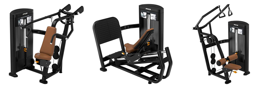 Precor - New Resolute Pin-Selected Strength Line - Machines