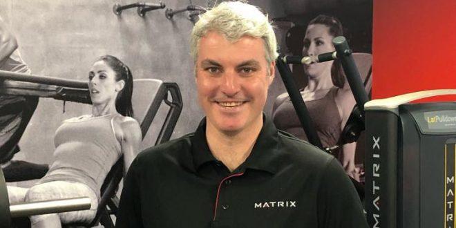 Richard Derbyshire Joins Matrix Fitness Australia