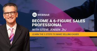 Steve Jensen - Become A Six Figure Sales Professional