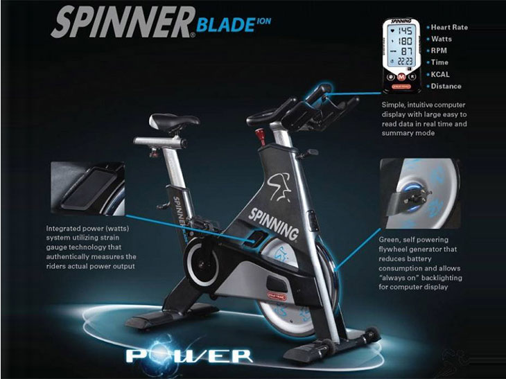Spinner® Blade ION™ from Star Trac Fitness