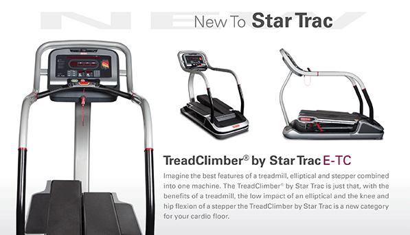 NEW - The TreadClimber by Star Trac E-TC