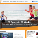 AusWebDesign - 50 Sports in 50 Weeks