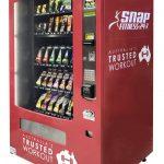 Worldwide Vending - Snap Fitness Large Gym Vending Machine