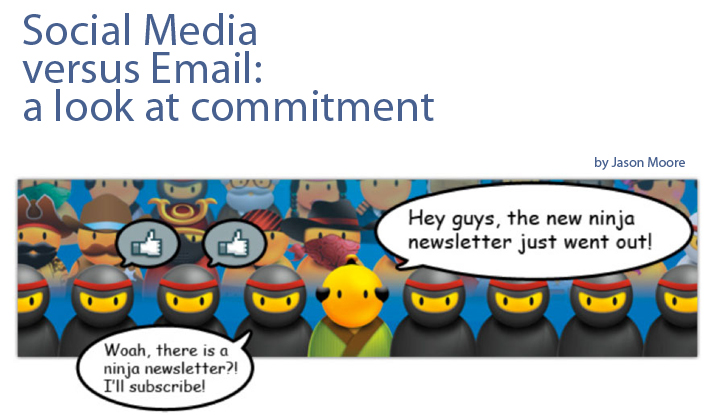 Social Media versus Email: A Look At Commitment