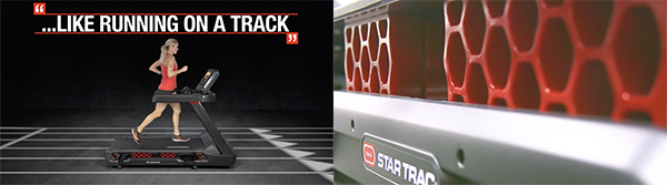 Star Trac - 10TRx FreeRunner - Like Running on a Track
