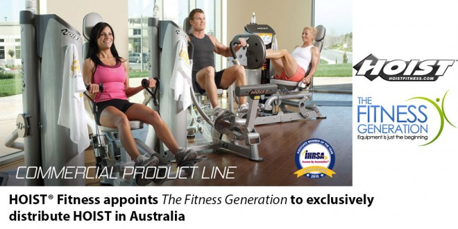The Fitness Generation Announed HOIST Distributor in Australia
