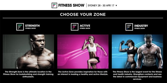 The Fitness Show 2017 - Sydney