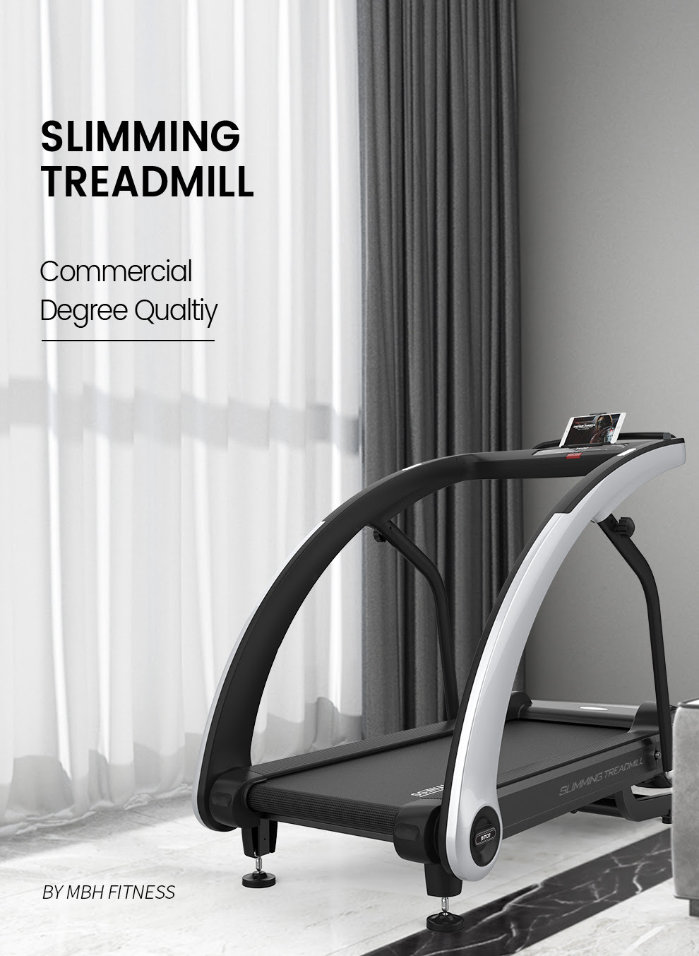 The MBF Fitness ST01A Treadmill - Commercial Quality