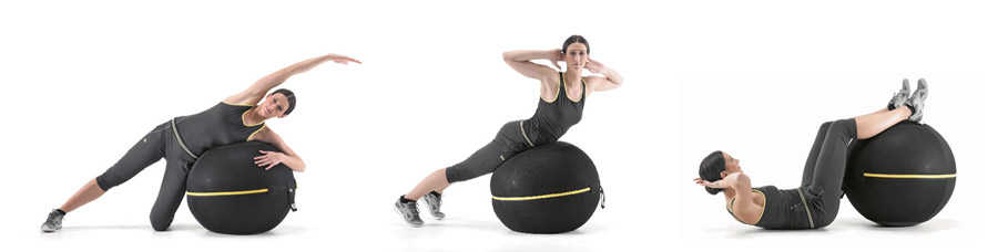The Wellness Ball Exercises