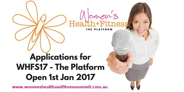 The Women's Health & Fitness Summit 2017
