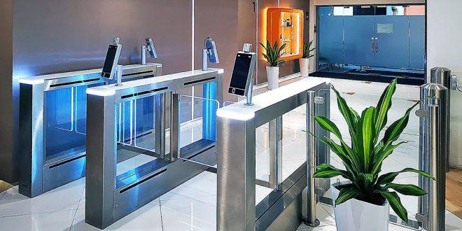 The new EasyAccess facial recognition - Centaman Entrance Control Gates