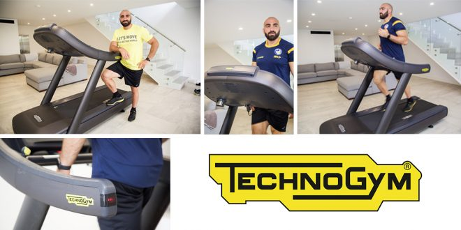 High Performance Equipment In The Spotlight - Tim Mannah Uses Technogym