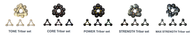 Tribar - Training Transformed - Weight Sets