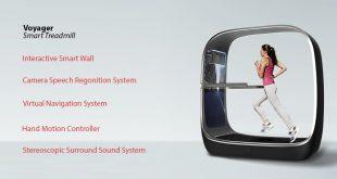 Voyager Smart Treadmill - The World's Sexiest Treadmill