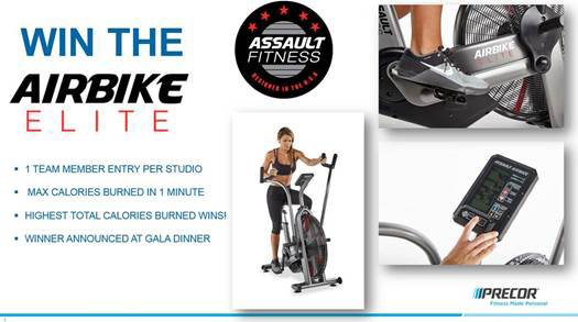 WIN The AirBike Elite - Visit The Precor Stand #1800