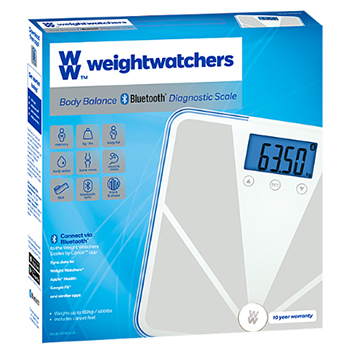 WIN Weight Watchers Bluetooth Diagnostic Scales