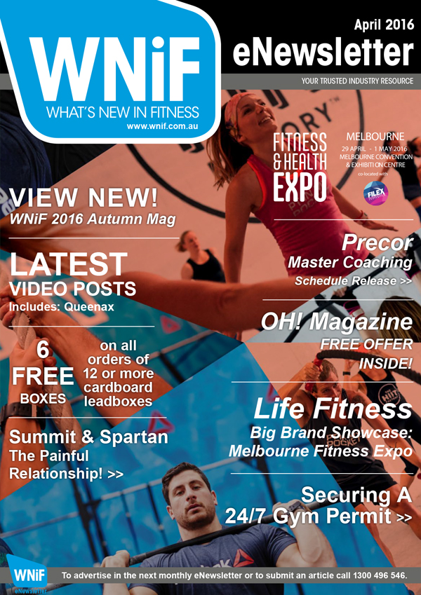 WNIF eNewsletter - April 2016