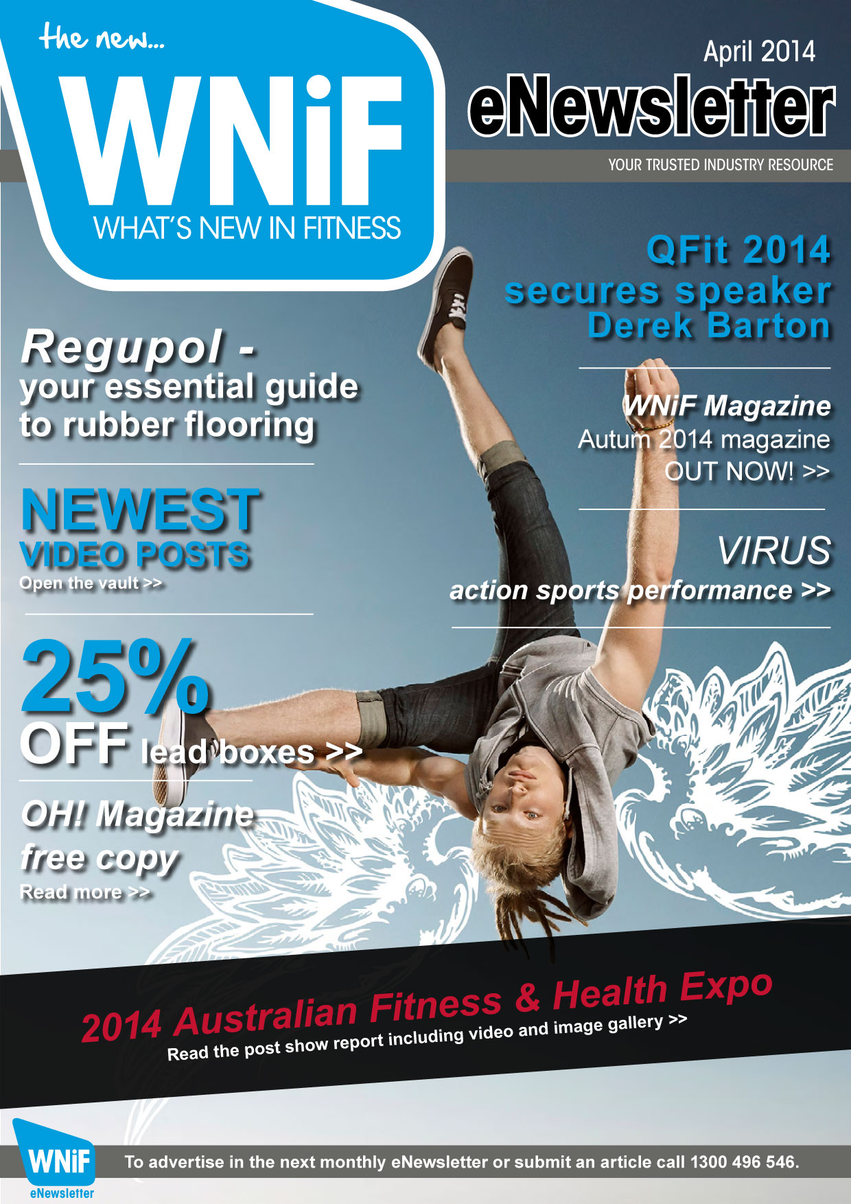 WNIF eNewsletter - April 2014