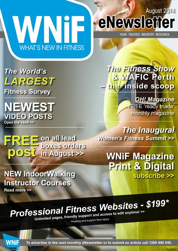 WNIF eNewsletter - August 2014