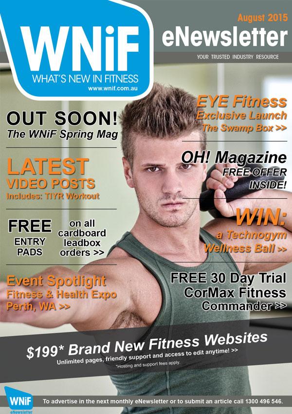 WNIF eNewsletter - August 2015