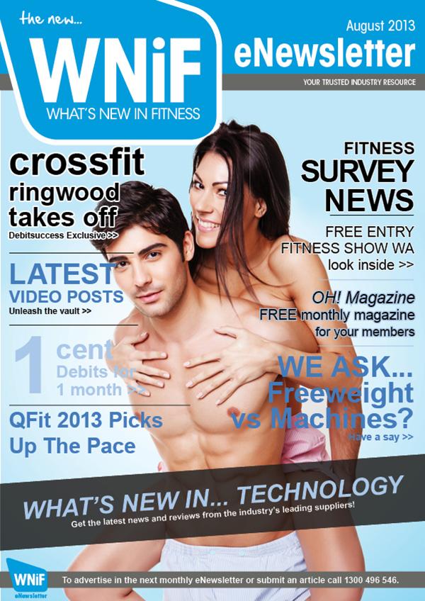 WNIF August 2013 eNewsletter