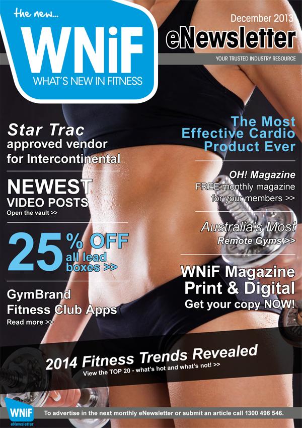 WNIF eNewsletter - December 2013