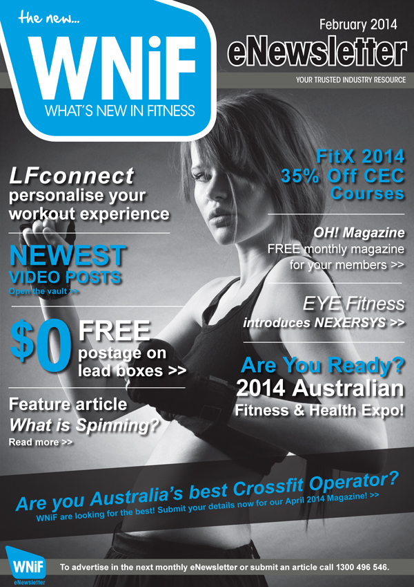 WNIF eNewsletter - February 2014