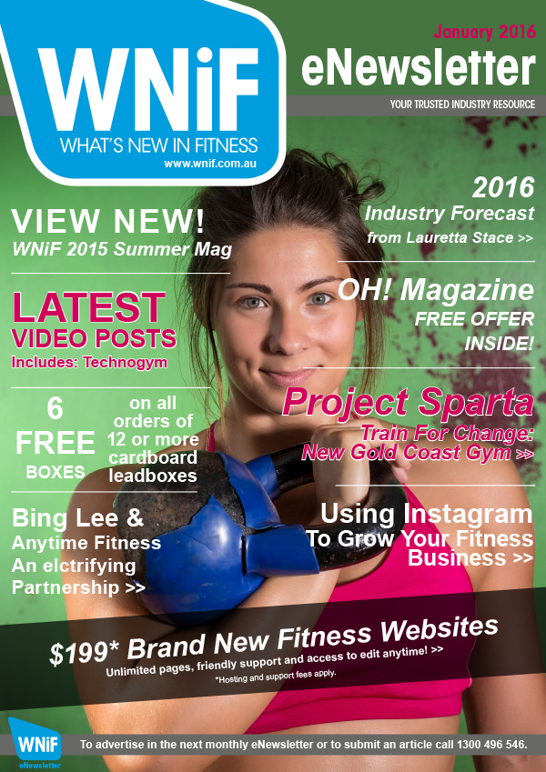 WNIF eNewsletter - January 2016