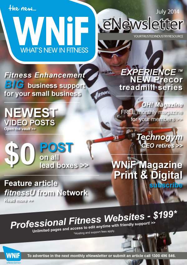 WNIF eNewsletter - July 2014