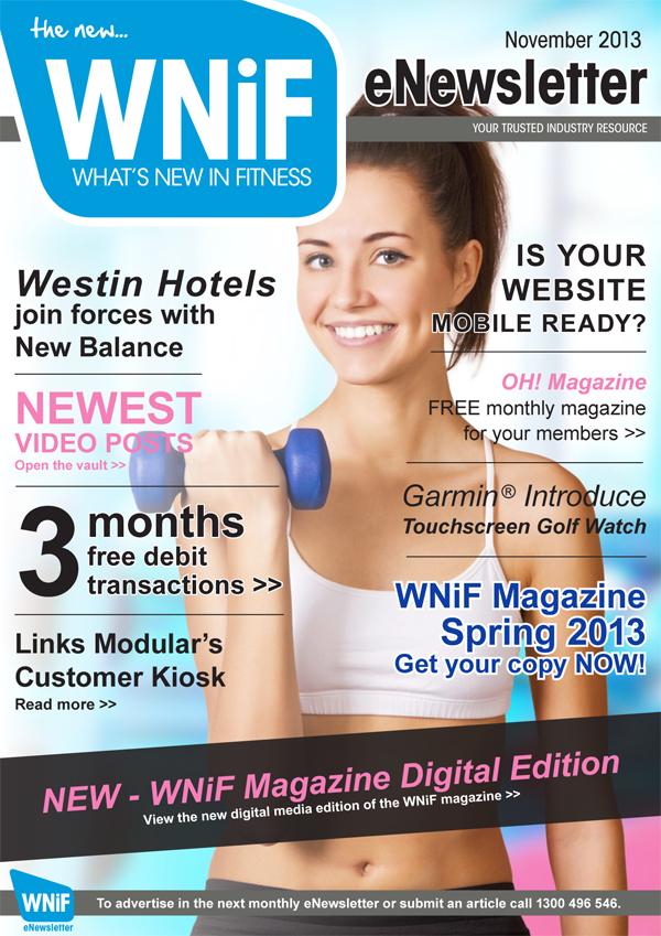 WNIF eNewsletter - November 2013
