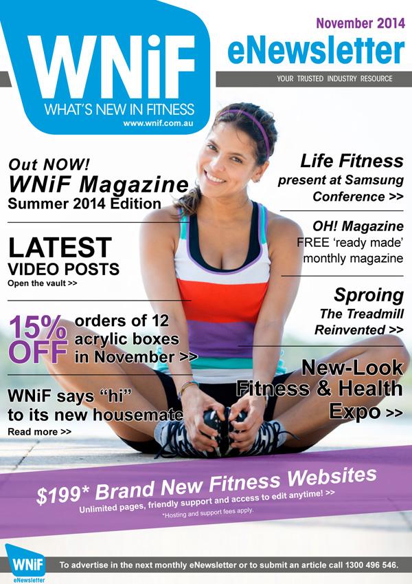 WNIF eNewsletter - November 2014