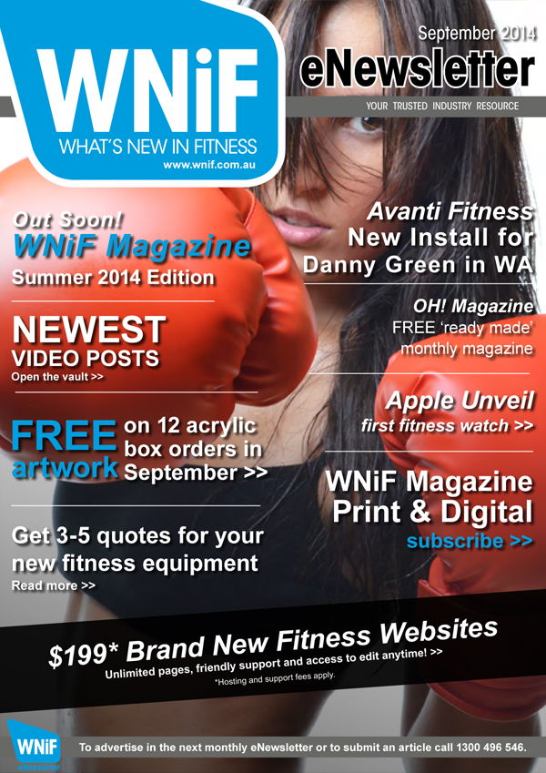 WNIF eNewsletter - September 2014