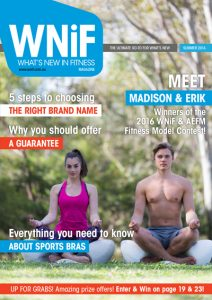 Fitness Model Search 2016 Winners - Madison & Erik