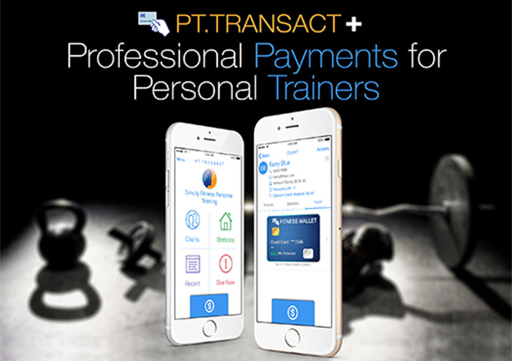 PT. Transact+ The app for Personal Trainers