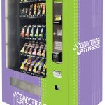 Worldwide Vending - Anytime Fitness Large Gym Vending Machine