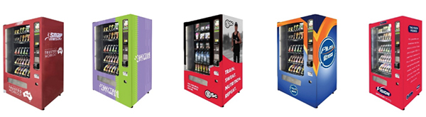 Worldwide Vending & Refrigeration - Gym Vending Machines