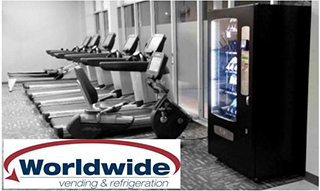 Worldwide Vending - Vending for smaller gyms and health cubs.