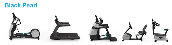 Precor - Black Pearl - Complementing the aesthetics of any facility