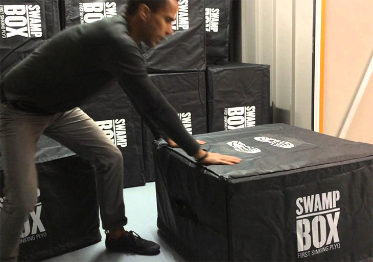 EYE Fitness Launch The Swamp Box